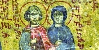 Holy Martyrs St Eulampios and St Eulampia (featured img)