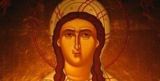 St Dymphna holy virgin martyr